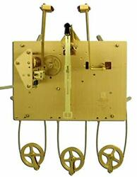 Hermle 1161-850 Triple Chime Cable Drive Grandfather Clock Movement