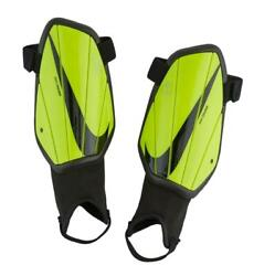 Nike Charge 2.0 Soccer Shin Guards Unisex Youth Size L Large Volt