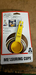 New Acme Measuring Cups Standard And Metric 93288 Nos Nip