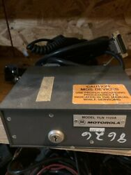 Vintage Motorola Vhf/uhf Spectra Handheld Control Head With Cables