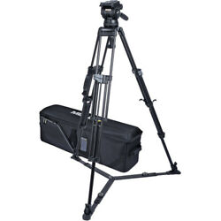 Miller Cx14 Sprinter Ii 2-stage Aluminum Alloy Tripod System With Ground Spreade