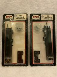 Atlas Ho Scale Lot Of 2 Left And Right Remote Switch Machines 52 And 53