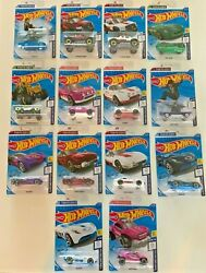 Hot Wheels 2020 Tokyo Olympics Full 14 Car Set. Color Variations And Dune Daddy T