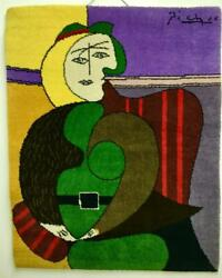 Couristan Pablo Picasso The Red Armchair Wool Area Rug Wall Hanging Le 31/500