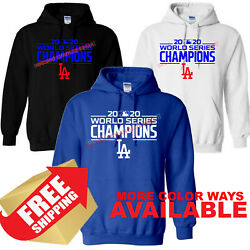Los Angles Dodgers LA 2020 World Series Champions Hoodie SEE FULL DESCRIPTION