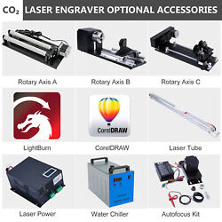 Autofocus Rotary Axis Laser Power Chiller Tube - Co2 Laser Engraver Accessories