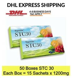 50 X 15's Superlife Stc30 Supplement Stemcell Activator Vitamins For Men And Women