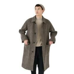 Trendy Mens 100 Wool Cashmere Mid Long Coats Lapel Thicken Warm Business Work L