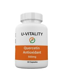 Buy 2 Get 1 Free Quercetin Antioxidant 500mg Immune System Energy Support