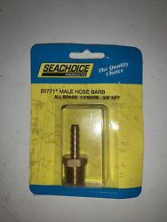 3/8 Inch Npt Male Threads X 1/4 Inch Barb Fuel Hose Barb Fitting For Boats