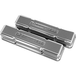 241-107 Holley Set Of 2 Valve Covers New For Chevy Suburban Express Van Pair