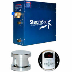 New Steam Generator Package 4.5kw Polished Chrome