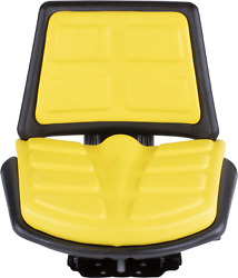 T110yl Seat Fits John Deere Several 17.75 Height 18.5 Width 4 Thickness