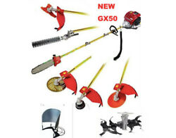 Rice Harvest 8 In 1 Multi Tools Gx50 4-stroke Brush Cutter Chain Saw Cultivator