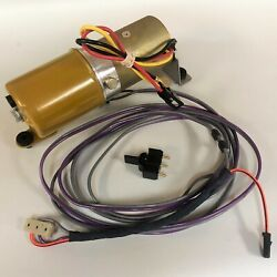 New 1968 Chevelle/malibu Convertible Power Top Pump, Switch And Wiring Harness