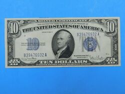 1934 D 10 Silver Certificate Currency Note 28