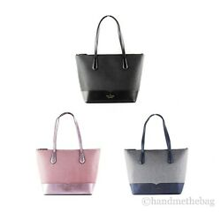 Kate Spade Lola Large Leather Glitter Tote Handbag Satchel Purse $99.00