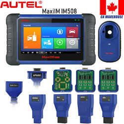 Autel Im508 Key Programming Immo Scanner Diagnostic Tool All Key Lost Ms906bt Ca