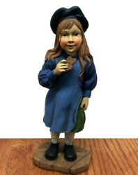 Candy Design Norway Norwegian Girl Vintage Figurine Statue