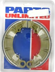 Parts Unlimited Brake Shoes Rear 1723-0150