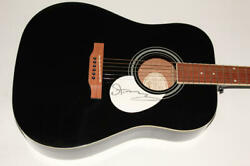 Sting Signed Autograph Gibson Epiphone Acoustic Guitar - The Police Stud Rare