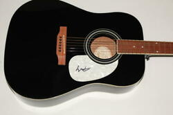Colter Wall Signed Autograph Gibson Epiphone Acoustic Guitar - Country Music