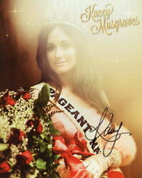 Kacey Musgraves Signed Autograph 8x10 Photo - Pageant Material Country Superstar