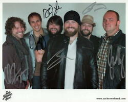 Zac Brown Band Complete X6 Signed Autograph 8x10 Photo - You Get What You Give