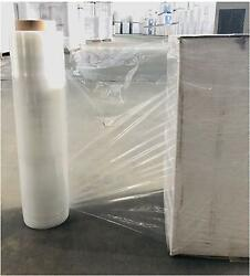 18-20 60-120 Gauge 200 Rolls Clear Movers Stretch Wrap Conventional Plastic