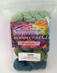 Mountain Colors Hand Painted Yarns Perspectives Crazyfoot Gradient Kit Pale Sage
