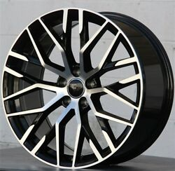 4set 19 19x8 5x112 Rs Type Wheels And Tires Pkg Audi A4 S4 A6 A5 Vw Jetta Gti