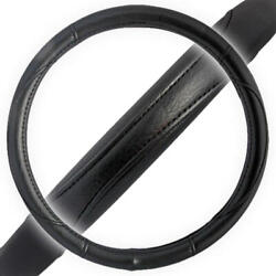 Performance Grip Soft Leather Steering Wheel Cover Universal Size 14.5-15.5