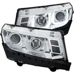121509 Anzo Headlight Lamp Driver And Passenger Side New For Chevy Lh Rh Camaro