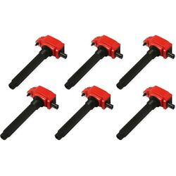 82736 Msd Set Of 6 Ignition Coils New For Vw Town And Country Grand Cherokee 300