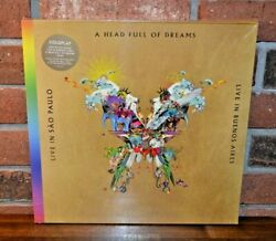 Coldplay - Live In Buenos Aires Ltd 1st Press 180g 3lp Butterfly Pkg Gold Vinyl