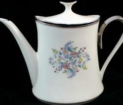 Lenox China Ascot Tea/coffee Pot With Lid Great Condtion