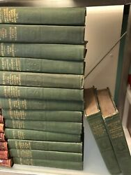 Antique Lot Of Bret Harte Book 15 Volumes - Uber Rare Collection
