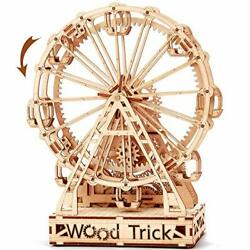 Wood Trick Ferris Wheel Toy Mechanical Model Observation 3d Wooden Puzzle Kid