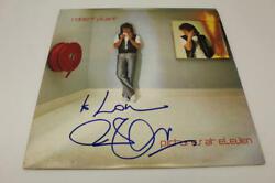 Robert Plant Signed Autograph Album Vinyl Record - Pictures At Eleven, Very Rare