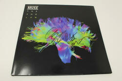 Muse Full Band X3 Signed Autograph Album Vinyl Record - The 2nd Law, Very Rare
