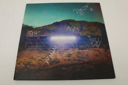 Arcade Fire Full Band X5 Signed Autograph Album Vinyl Record - Everything Now.