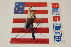 Bruce Springsteen Signed Autograph 7 Album Vinyl Record Born In The Usa Legend