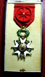 French National Order Of The Legion Of Honor Knight Gold Medal In Box