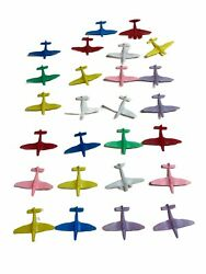 Vintage Small Plastic Airplanes Toy Planes Lot Of 26 Made In China