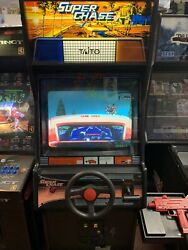 Taito Super Chase Driver Arcade Coin Op Game Machine