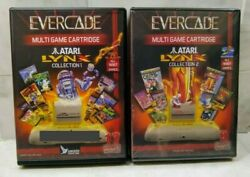 Evercade Lynx Collection #1 and #2 two game cartridges AUTOGRAPHED