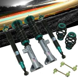 Megan Racing Green Euro Ii Series Coilover Springs For 92-98 Bmw 3-series E36/m3