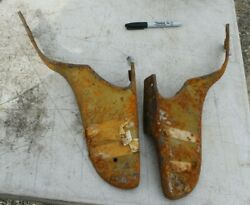 1959 1960 Chevy Impala Dash Side Panels Pair @of
