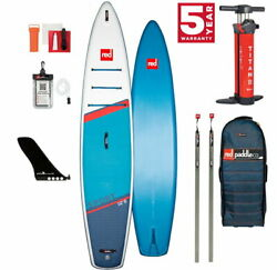 Red Paddle Co 12.6and039 Sport Touring Stand Up Paddle Sup Board Mit Speed Tail 381x7