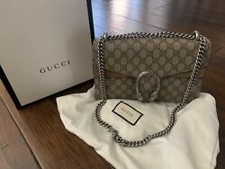 Bag Dioynsus Small Gg Beige 100 Authentic With Tags Great Condition